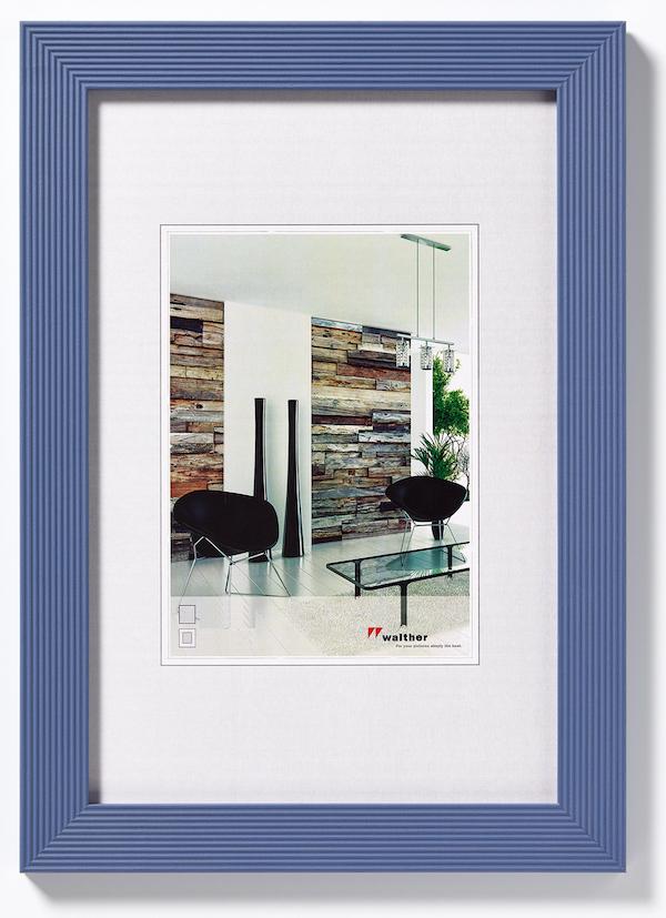 holz bilderrahmen grado 50x70 natur von walther design. Black Bedroom Furniture Sets. Home Design Ideas
